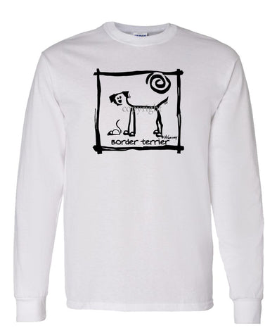 Border Terrier - Cavern Canine - Long Sleeve T-Shirt