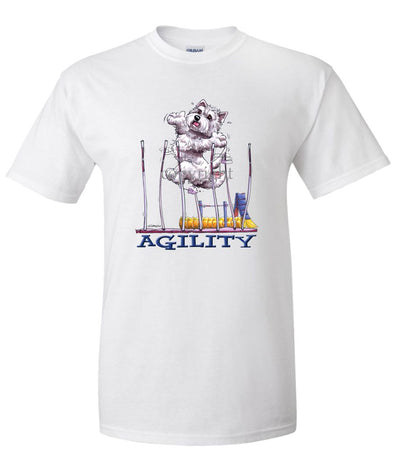West Highland Terrier - Agility Weave II - T-Shirt