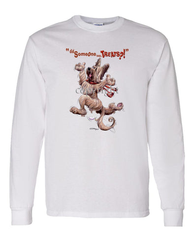 Briard - Treats - Long Sleeve T-Shirt