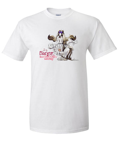Shih Tzu - Dance Like Everyones Watching - T-Shirt