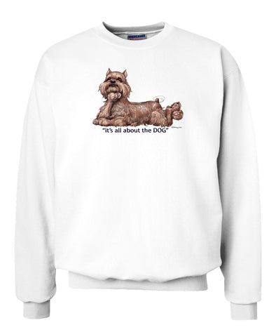 Brussels Griffon - All About The Dog - Sweatshirt