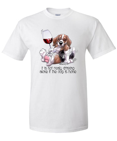 Beagle - It's Not Drinking Alone - T-Shirt