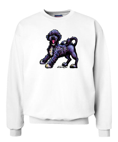 Portuguese Water Dog - Cool Dog - Sweatshirt