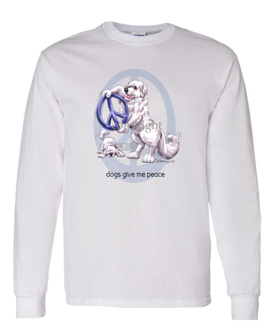 Great Pyrenees - Peace Dogs - Long Sleeve T-Shirt