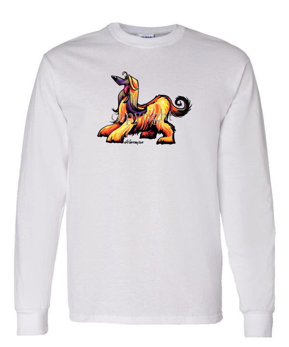 Afghan Hound - Cool Dog - Long Sleeve T-Shirt