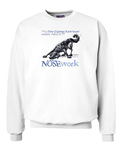 Flat Coated Retriever - Nosework - Sweatshirt