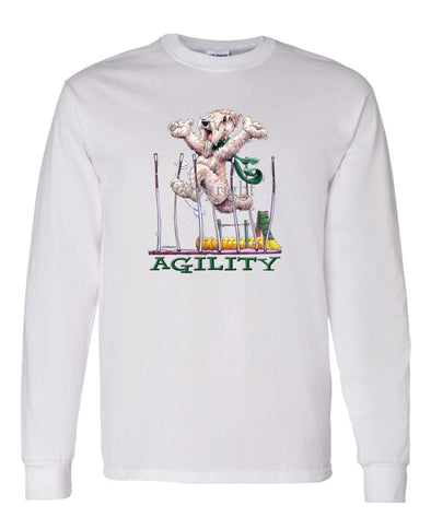 Soft Coated Wheaten - Agility Weave II - Long Sleeve T-Shirt