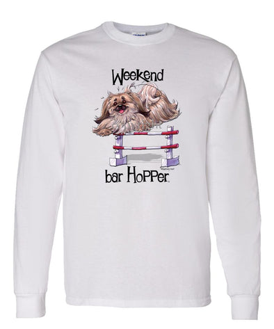 Pekingese - Weekend Barhopper - Long Sleeve T-Shirt