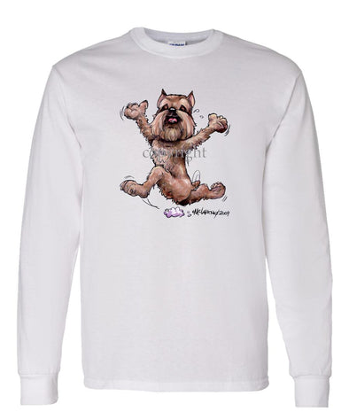 Brussels Griffon - Happy Dog - Long Sleeve T-Shirt