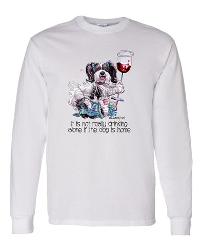 Havanese - It's Not Drinking Alone - Long Sleeve T-Shirt