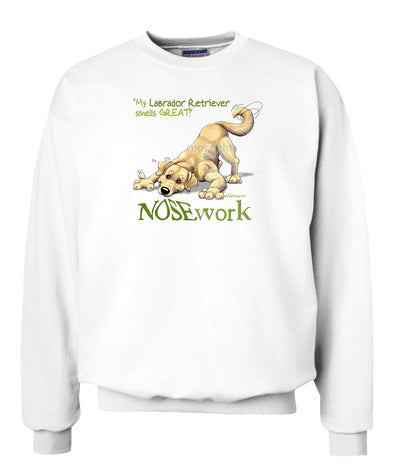 Labrador Retriever  Yellow - Nosework - Sweatshirt
