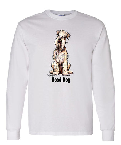 Soft Coated Wheaten - Good Dog - Long Sleeve T-Shirt
