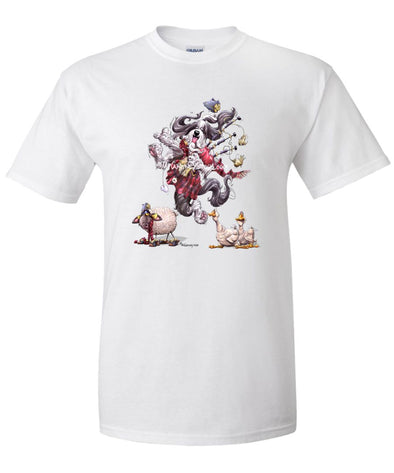 Bearded Collie - Bagpipes - Mike's Faves - T-Shirt