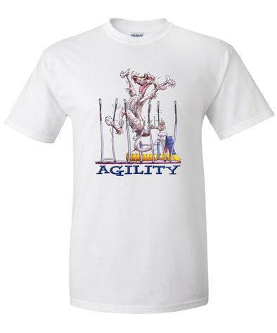 English Setter - Agility Weave II - T-Shirt