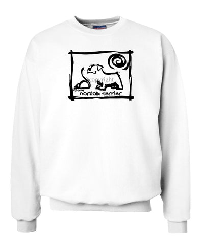 Norfolk Terrier - Cavern Canine - Sweatshirt