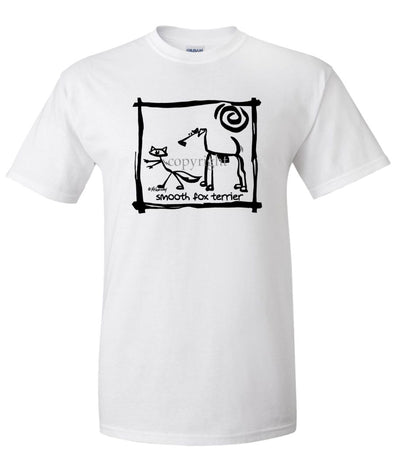 Smooth Fox Terrier - Cavern Canine - T-Shirt