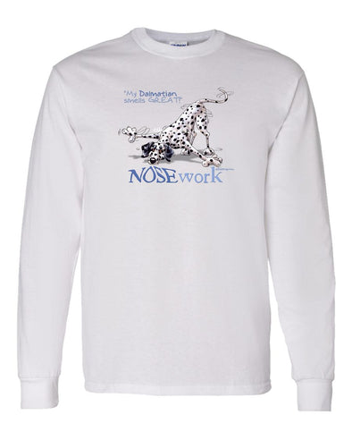 Dalmatian - Nosework - Long Sleeve T-Shirt