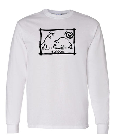 Bulldog - Cavern Canine - Long Sleeve T-Shirt