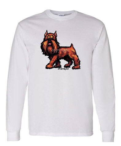 Brussels Griffon - Cool Dog - Long Sleeve T-Shirt