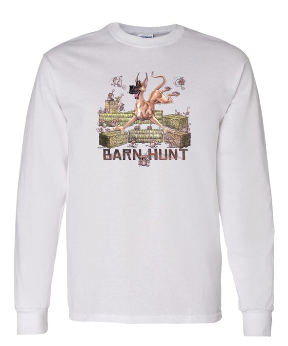Great Dane - Barnhunt - Long Sleeve T-Shirt