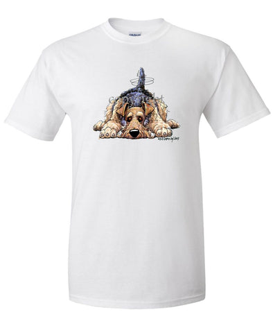 Airedale Terrier - Rug Dog - T-Shirt