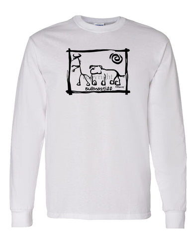 Bullmastiff - Cavern Canine - Long Sleeve T-Shirt