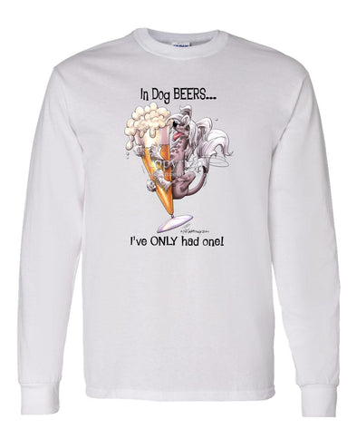 Chinese Crested - Dog Beers - Long Sleeve T-Shirt