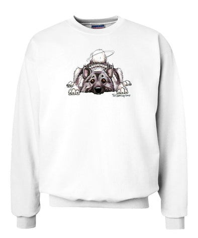 Norwegian Elkhound - Rug Dog - Sweatshirt