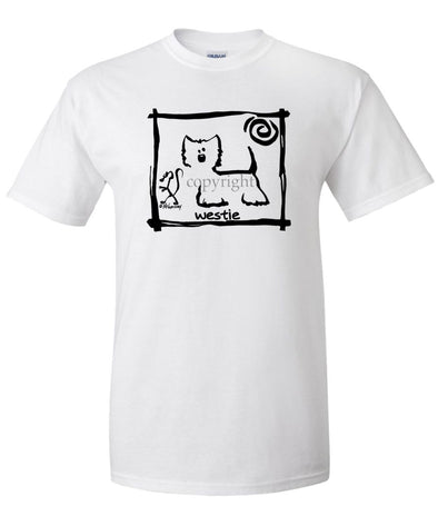 West Highland Terrier - Cavern Canine - T-Shirt