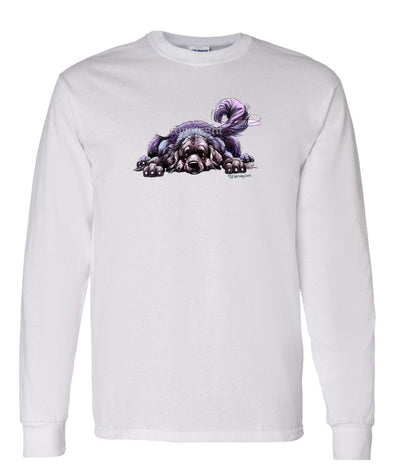 Newfoundland - Rug Dog - Long Sleeve T-Shirt