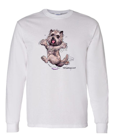 Cairn Terrier - Happy Dog - Long Sleeve T-Shirt