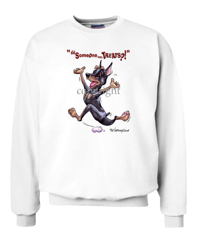 Miniature Pinscher - Treats - Sweatshirt