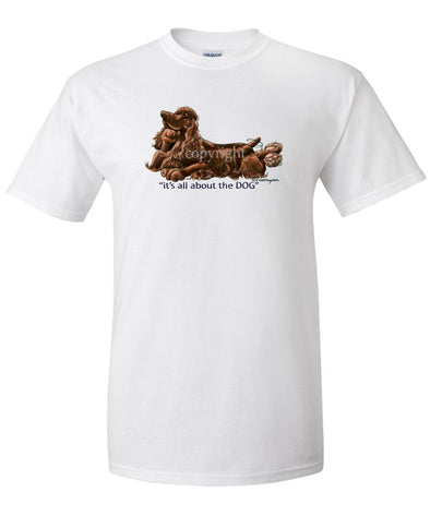 Field Spaniel - All About The Dog - T-Shirt