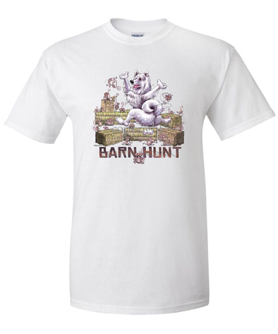 Samoyed - Barnhunt - T-Shirt