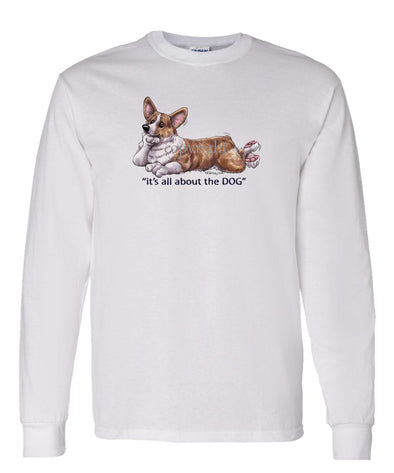 Welsh Corgi Pembroke - All About The Dog - Long Sleeve T-Shirt