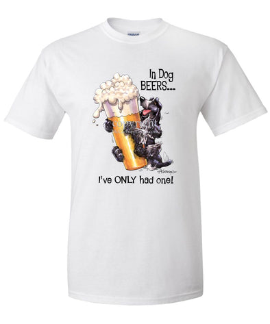 English Cocker Spaniel - Dog Beers - T-Shirt
