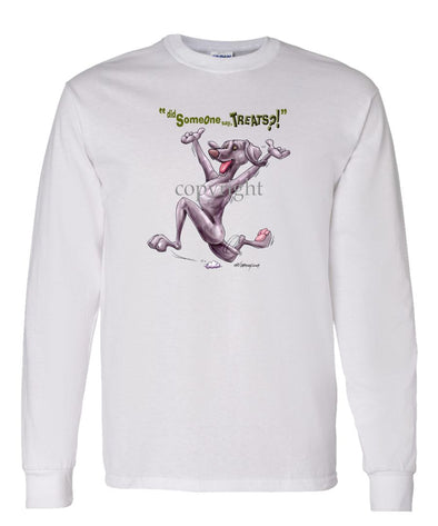 Weimaraner - Treats - Long Sleeve T-Shirt
