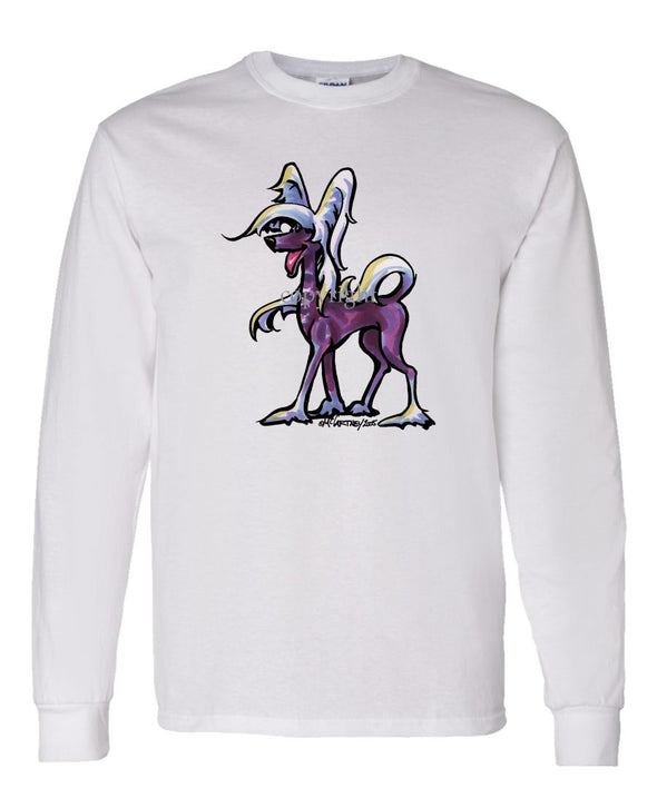 Chinese Crested - Cool Dog - Long Sleeve T-Shirt