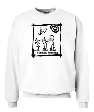 Chinese Crested - Cavern Canine - Sweatshirt