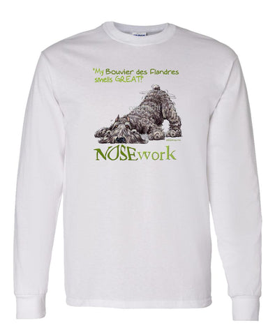 Bouvier Des Flandres - Nosework - Long Sleeve T-Shirt