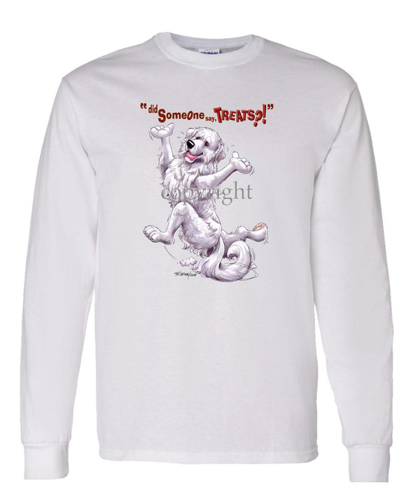 Great Pyrenees - Treats - Long Sleeve T-Shirt