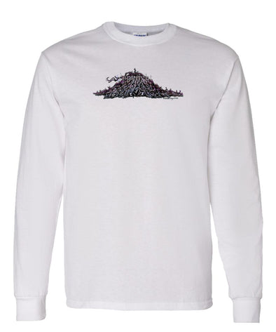 Puli - Rug Dog - Long Sleeve T-Shirt