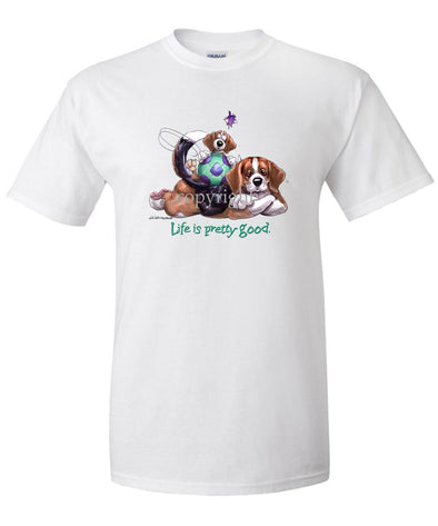 Beagle - Life Is Pretty Good - T-Shirt