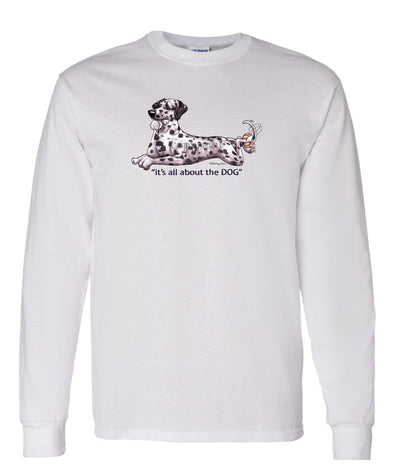 Dalmatian - All About The Dog - Long Sleeve T-Shirt