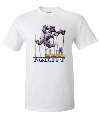 English Cocker Spaniel - Agility Weave II - T-Shirt