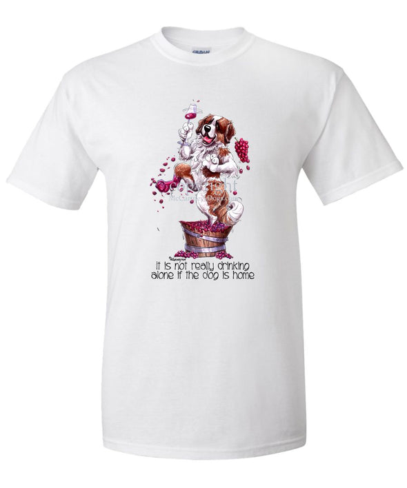 Saint Bernard - It's Not Drinking Alone - T-Shirt