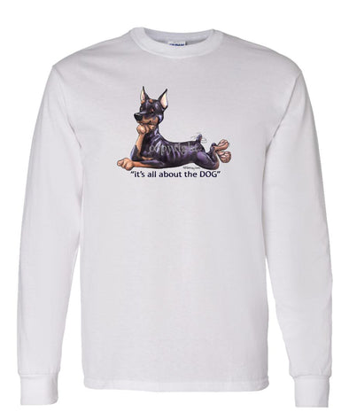 Miniature Pinscher - All About The Dog - Long Sleeve T-Shirt