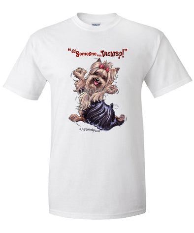 Yorkshire Terrier - Treats - T-Shirt