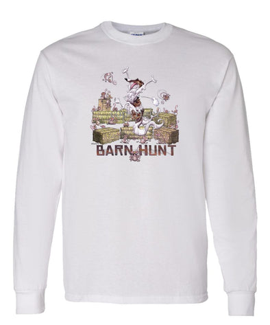 Borzoi - Barnhunt - Long Sleeve T-Shirt