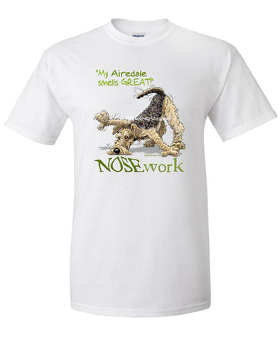 Airedale Terrier - Nosework - T-Shirt